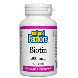 Natural Factors biotin 90 cap
