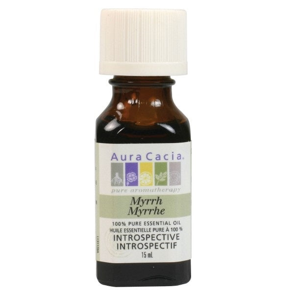 Aura Cacia Myrr Essentail Oil 15ml