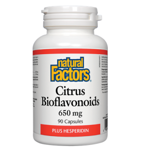 Natural Factors citrus bioflavonoids 650 mg  90 cap