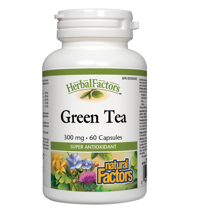 Natural Factors Green Tea  300 mg - 60 cap