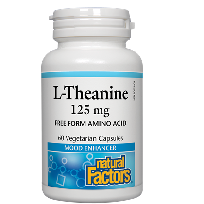 natural Factors L-Theanine 125 mg - 60 cap