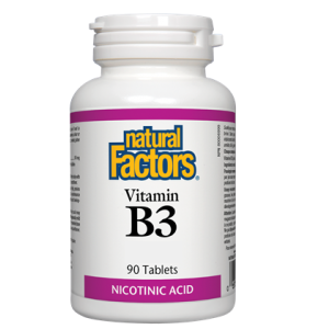 Natural Factors vitamin B3 500mg 90 cap