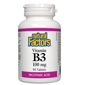 Natural Factors vitamin B3 90 cap