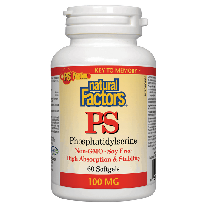 Natural Factors  Phosphatidylserine 100mg - 60cap