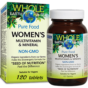 Whole Earth & Sea Women's Multivitamin & Mineral  120tablets