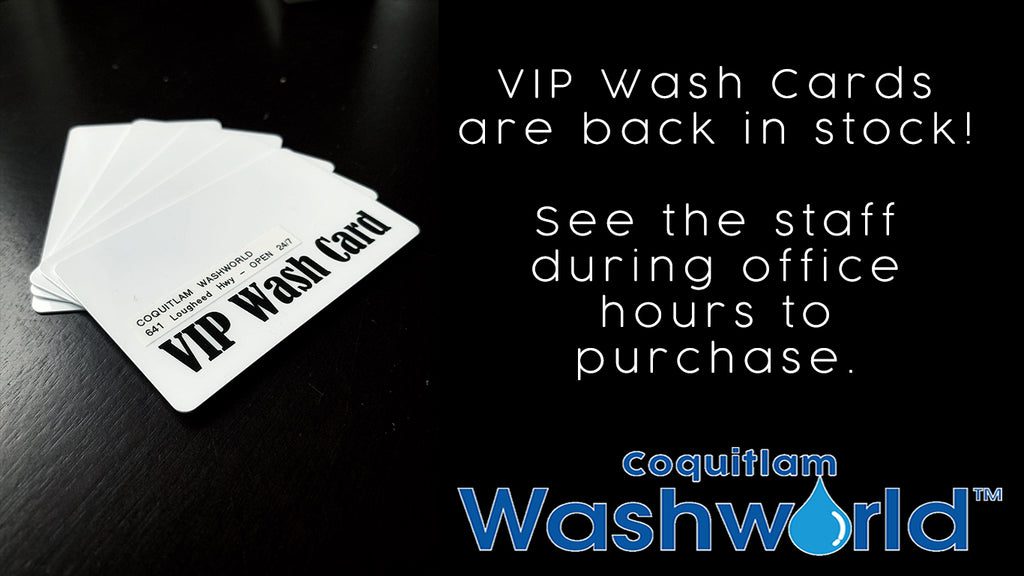 VIP Cards NOW IN STOCK!