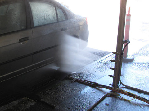 Under Carriage Wash w/side  Blaster Turbo Nozzle Technology