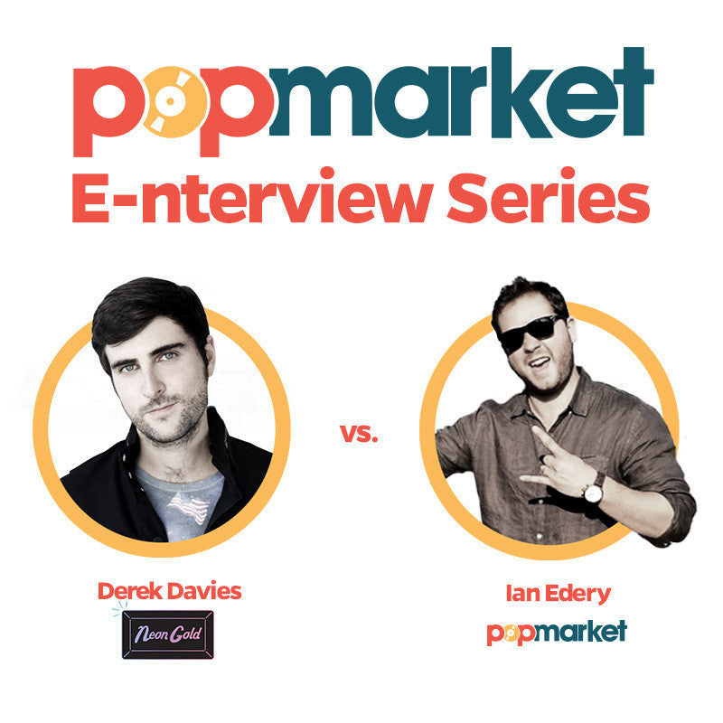 Popmarket E-nterview Series #1: Derek Davies of Neon Gold Records