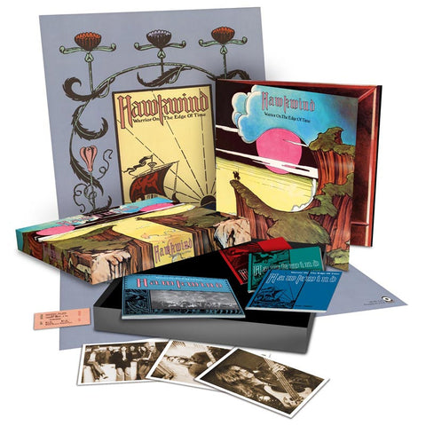 Hawkwind | Warrior On The Edge Super Deluxe Box Set | 2xCD + DVD + Vinyl LP