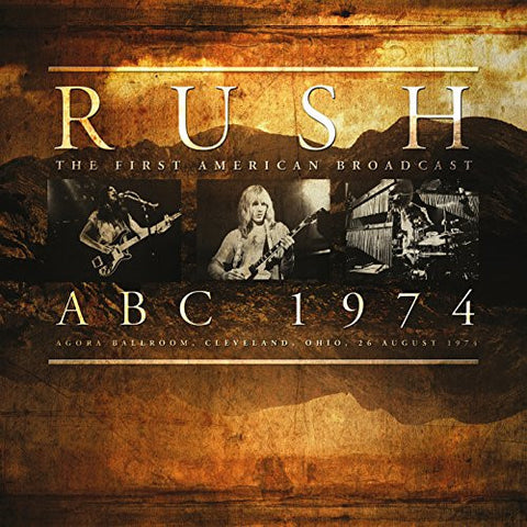 Rush | ABC 1974 [Import] | LP 180g Vinyl (Limited Edition)