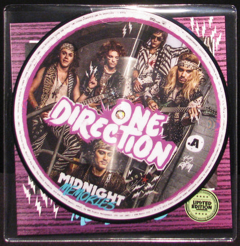 "One Direction | Midnight Memories | Limited Edition 7"" Picture Disc Vinyl"