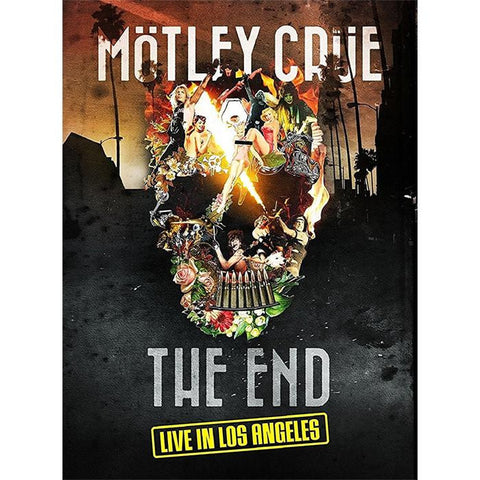 Mötley Crüe | The End - Live in Los Angeles | Blu-ray or DVD Combo