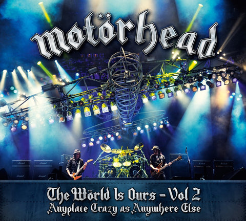 Motörhead | The Wörld Is Ours - Vol. 2: Anyplace Crazy As Anywhere Else | Vinyl LP