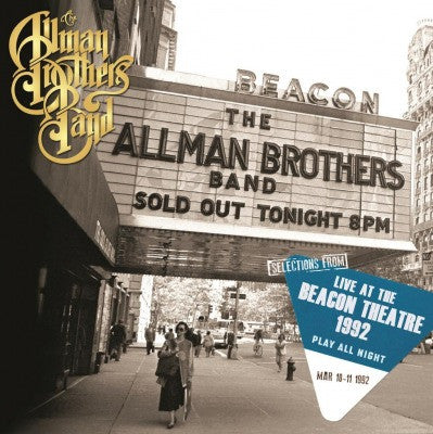 The Allman Brothers Band | Selections from Play All Night: Live at the Beacon Theatre 1992 [Import] | 2LP 180g Vinyl