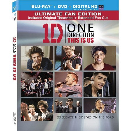 One Direction | This Is Us: Ultimate Fan Edition | Blu-ray + DVD + UltraViolet