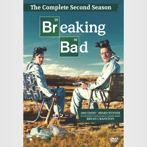 Breaking Bad | The Complete Second Season | Blu-ray or DVD