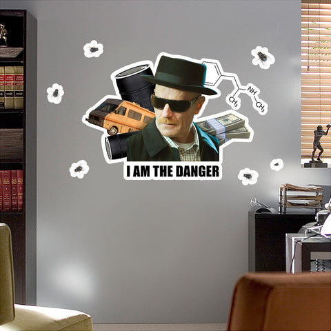 Breaking Bad I Am The Danger Walter White