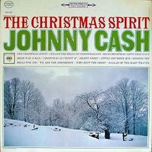 Johnny Cash | The Christmas Spirit | Limited Edition Christmas Red 180g Vinyl 2LP