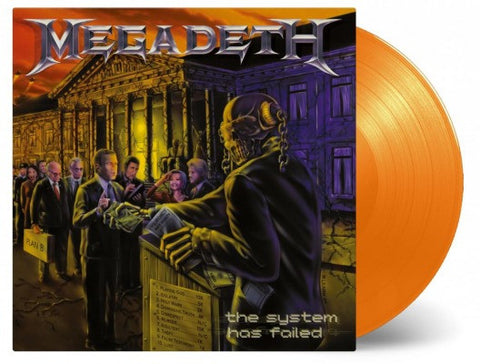 Megadeth | The System Has Failed | 180g Vinyl LP [Import]