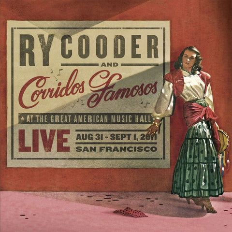 Ry Cooder | Live in San Francisco | Vinyl LP