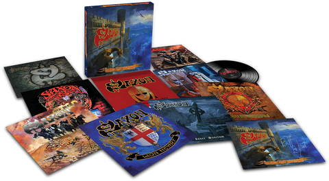 Saxon | Eagles & Dragons | Limited Edition 180g 9LP Vinyl Box Set