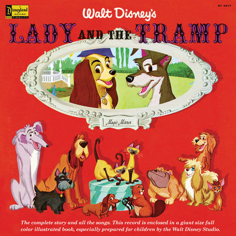 Disney | Magic Mirror: Lady And The Tramp Original Soundtrack | Limited Edition Vinyl LP
