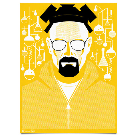 Breaking Bad | Heisenberg Yellow | Print