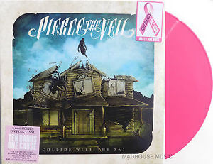 Pierce the Veil | Collide with the Sky | Vinyl LP Pink Colored