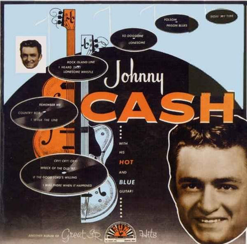 Johnny Cash | With His Hot and Blue Guitar | 180g Vinyl LP