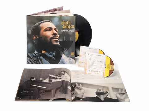 Marvin Gaye | What's Going On (Deluxe) | Vinyl LP Box Set