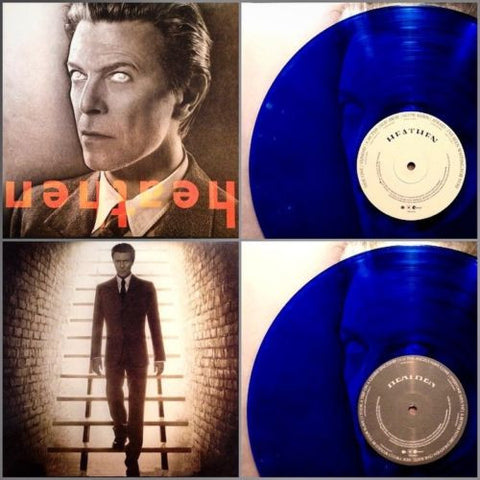 David Bowie | Heathen | Limited Edition 180g Blue Vinyl LP