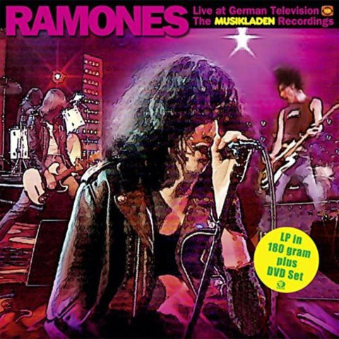 Ramones | Live at German Television - The Musikladen Recordings | 180g Vinyl 2LP (with DVD)