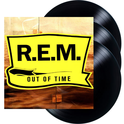 R.E.M. | Out of Time | 25th Anniversary Deluxe Edition 180g Vinyl 3LP Set