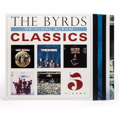 The Byrds | Original Album Classics | 180g 5LP Vinyl Box Set