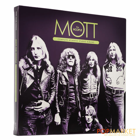 Mott the Hoople | Complete Atlantic Studio Albums | Limited Edition 180g 4 LP Vinyl Box Set