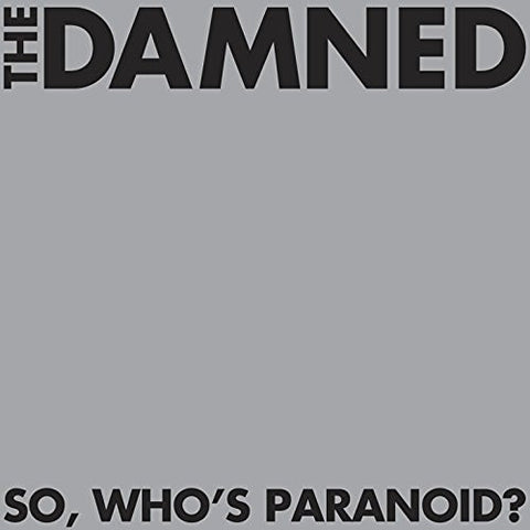 The Damned | So, Who's Paranoid? | 2 180g Vinyl LP