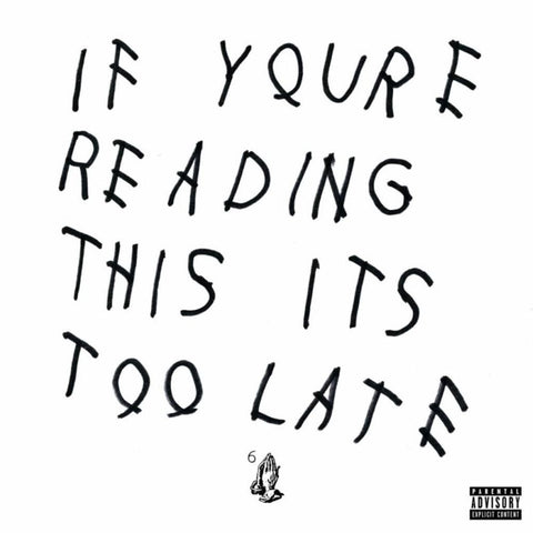 Drake | If You're Reading This It's Too Late | 180g Vinyl LP