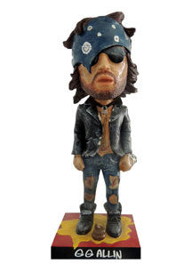 GG Allin | 1989 Throbblehead Figure  (Deluxe Edition) | Figurine