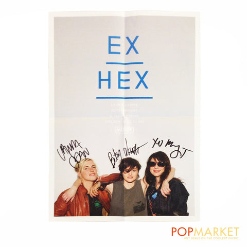 Ex Hex | Autographed Poster