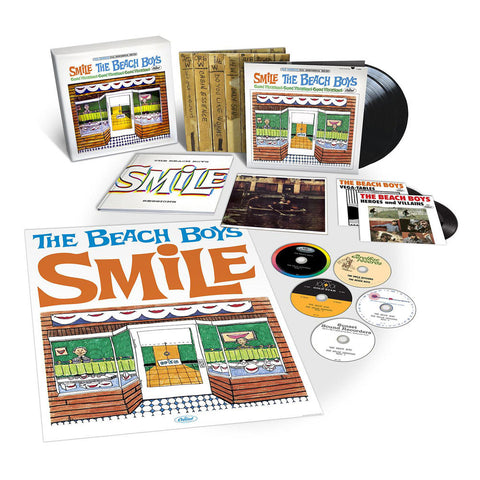 "The Beach Boys | The SMiLE Sessions | Deluxe Box Set (5 CD / LP / 2 7"" Singles)"
