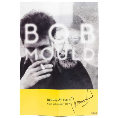 Bob Mould | Beauty & Ruin autographed poster | Poster