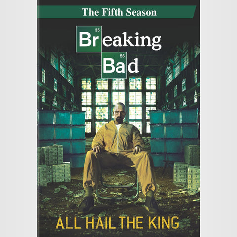 Breaking Bad | The Complete Fifth Season | Blu-ray or DVD