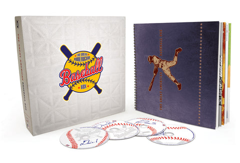 Various Artists | The Great American Baseball Box | CD Set