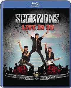 Scorpions | Get Your Sting and Blackout Live in 3D (2011) | Blu-ray