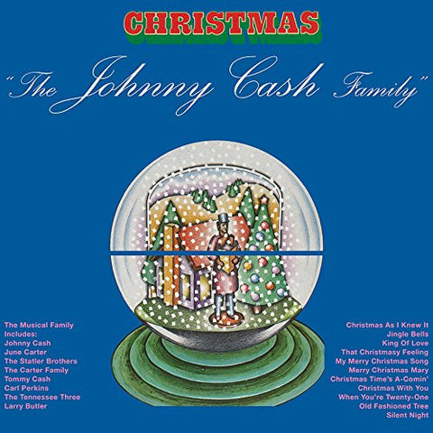Johnny Cash | The Johnny Cash Family Christmas | 180g Vinyl LP (Limited Edition)