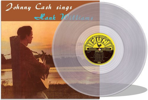 Johnny Cash | Johnny Cash Sings Hank Williams | 180g Vinyl LP (Limited Edition; Clear Vinyl)