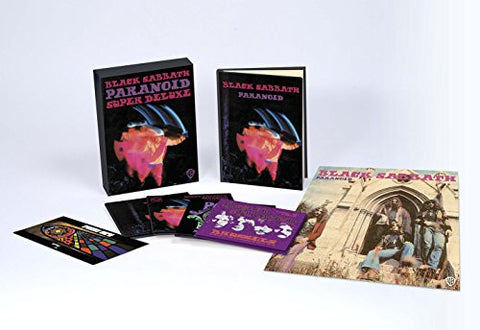 Black Sabbath | Paranoid | Deluxe Edition 4 CD + Book Box Set