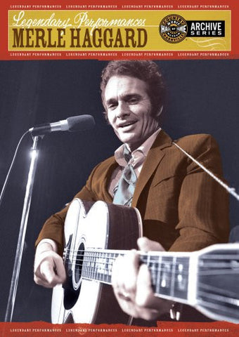 Merle Haggard | Legendary Performances | DVD