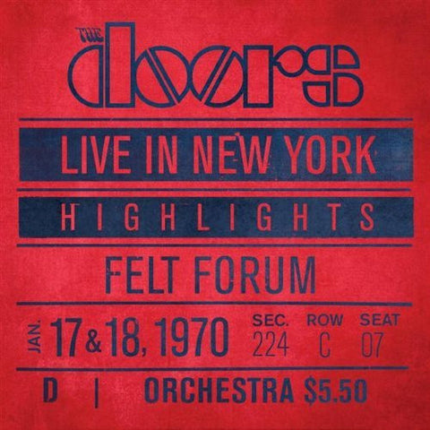 The Doors | Live in New York [Import] | 180g Vinyl 2LP