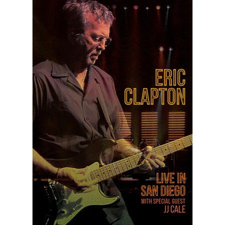 Eric Clapton | Live in San Diego (w/ special guest JJ Cale) | Blu-ray